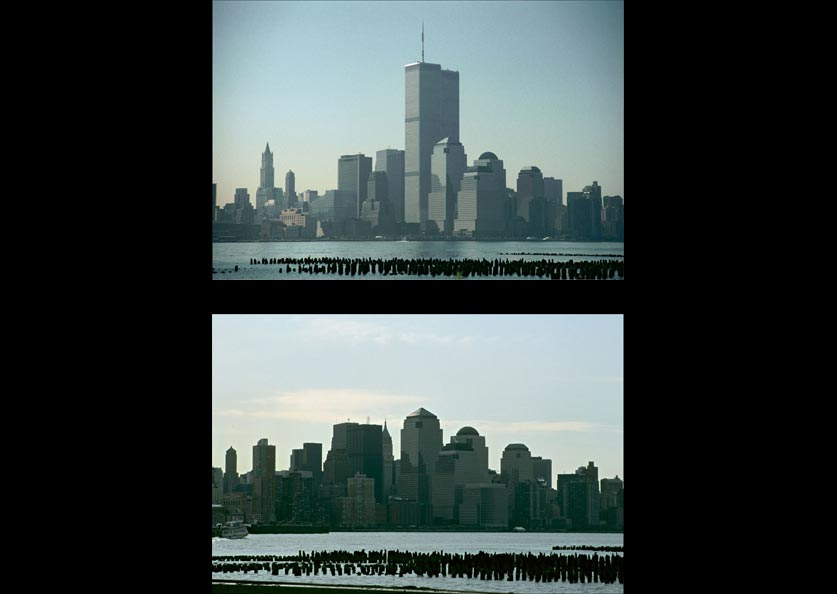 Twin Towers Photo Twins